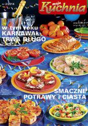 Moja Kuchnia Rocznik 2014 Czasopisma Prenumeraty Archiwum